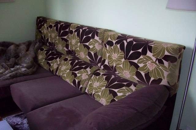 Sofá de 2 plazas + chaislonge con deslizantes