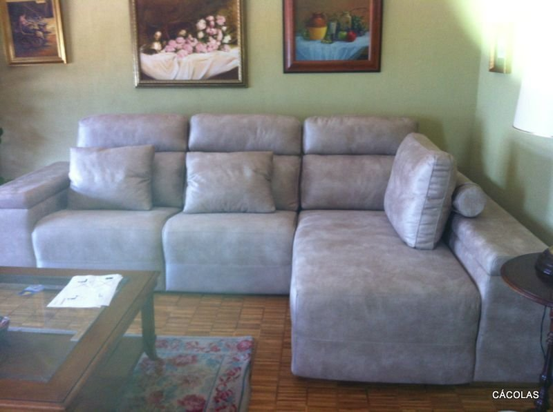 Sofa relax eléctrico de 2.89 m.