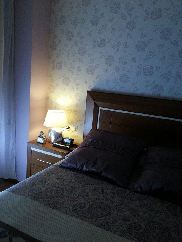 Cabecero cama 1.50 en madera de roble.