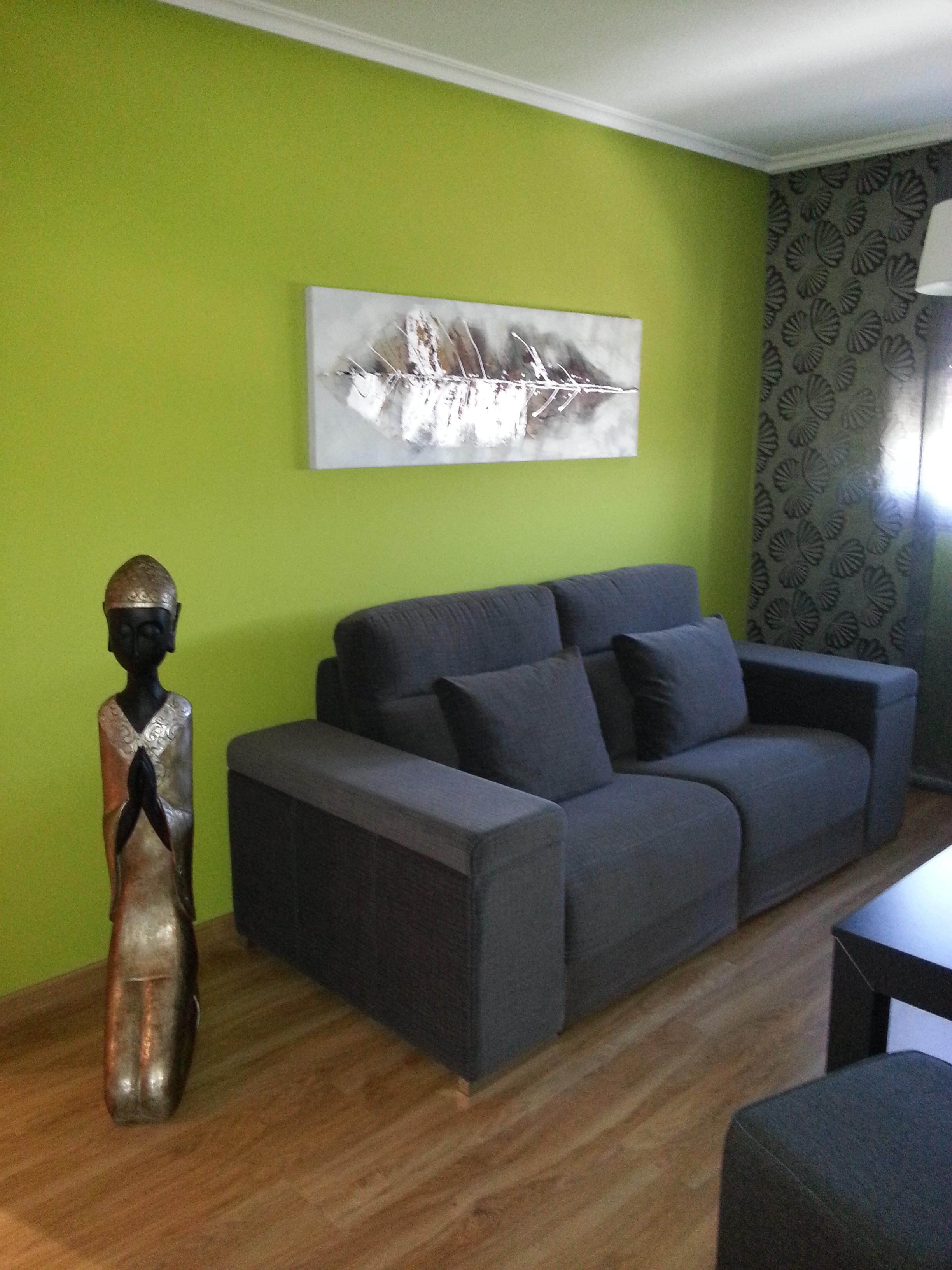 Sofá de 3 plazas con deslizante
