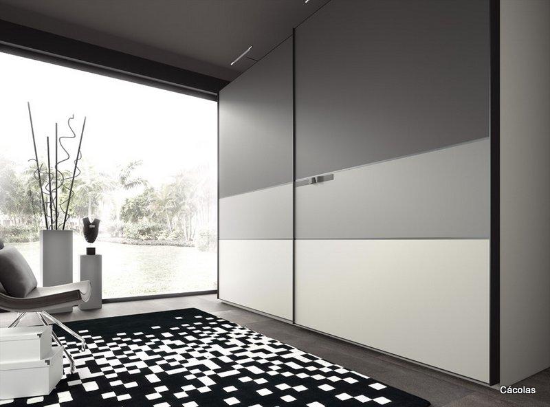 Dormitorios con armarios empotrados beautiful armarios for Puertas correderas diseno moderno