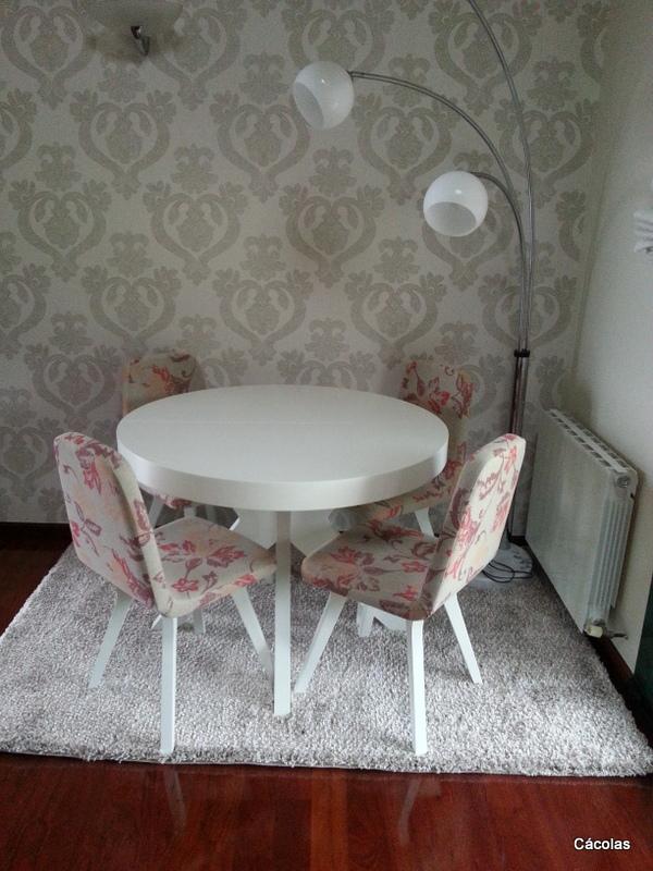 Comedor con mesa extensible