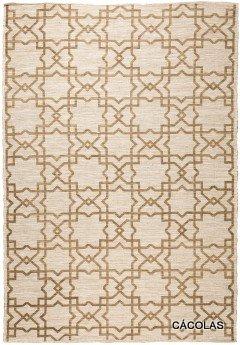 Alfombra lana y poliester ,diseño barroco, tacto muy suave